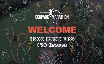 The Ecopark Marathon 2020 has reached 1500 runners and 170 run clubs